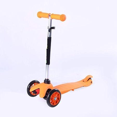 WY-Tong Monopatin niños Patinete para niños Pedal Plegable ...