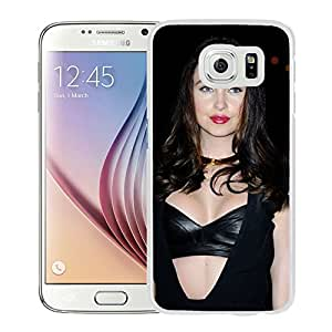 Unique Designed Cover Case For Samsung Galaxy S6 With Emma Miller Girl Mobile Wallpaper(79) Phone Case