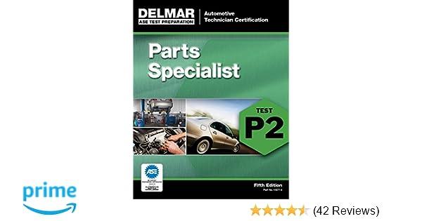 ase parts specialist practice test