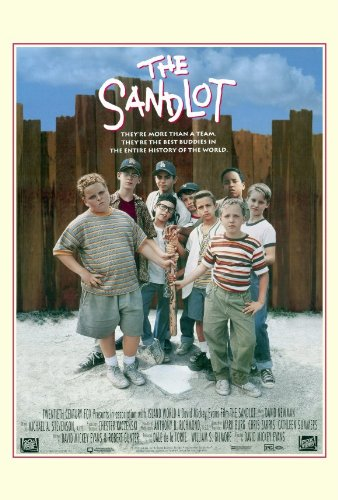 sandlot group movie poster