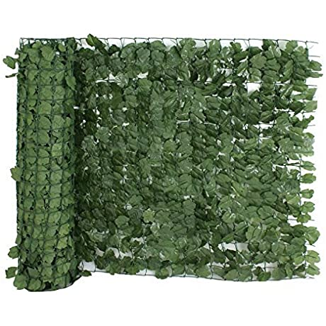 ZENY Faux Ivy Privacy Fence Screen 94 X 59 39 Artificial Hedge Fencing Outdoor Decor 94 X 39