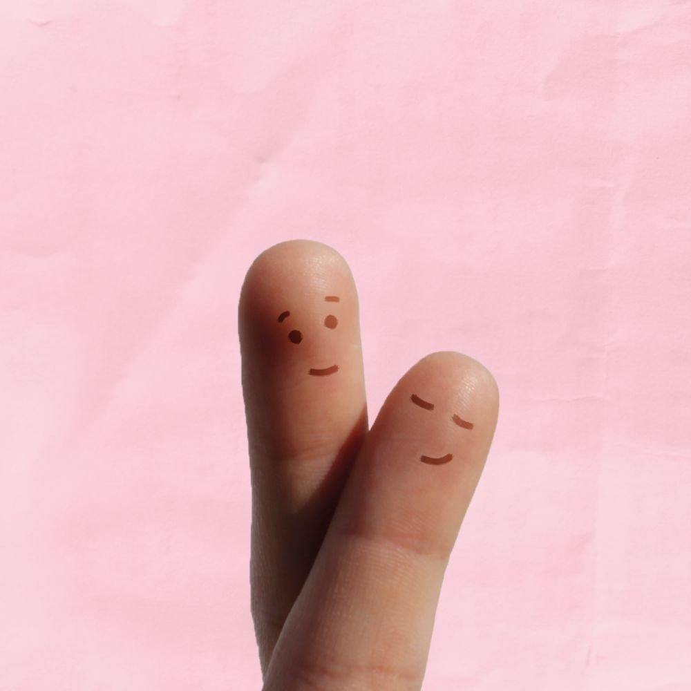Kartenparadies Danksagung für für für Hochzeitsgeschenke Hochzeit Dankeskarte Fingerpaar, hochwertige Danksagungskarte Hochzeitsglückwünsche inklusive Umschläge   10 Karten - (Format  215x105 mm) Farbe  HellRosa B01MYAMNID | Spielen Sie das Be 383b23