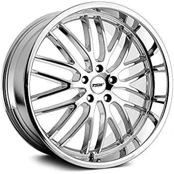 32 Matte Black Wheel Rim 5x112 TSW Sebring 17x8 QTY 1