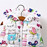 Meolin Baby Graffiti vest Girl Winter Coat Animal Graffiti Waistcoat Outwear Print Thick Jacket,Graffiti vest,As Description