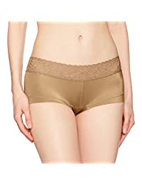 Maidenform Women's Sweet Nothings Microfiber Boyshort with Lace