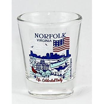 Virginia Beach Virginia Great American Cities Collection Shot Glass World By Shotglass virginiabeachvagacc