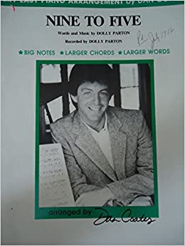 9 to 5 nine to five dan coates popular music made easy for piano