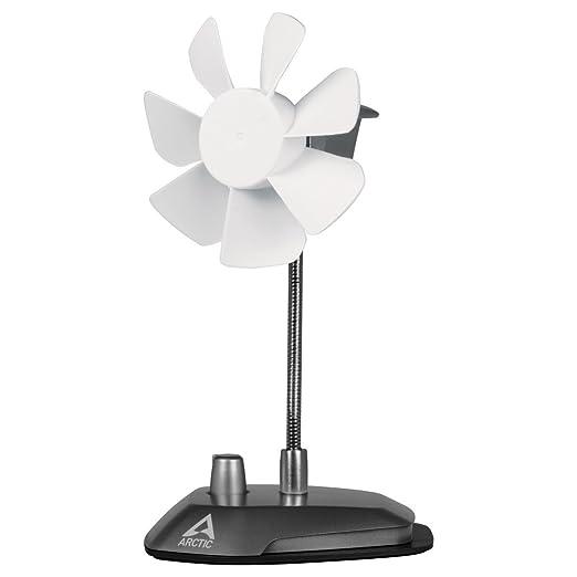 69 opinioni per ARCTIC Breeze- Elegante ventilatore da tavolo USB con collo flessibile e
