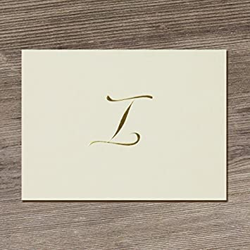 Designer Greetings Monogram Boxed Note Cards Letter M Personalized Stationery Set 10 Count