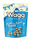 Wagg Puppy Junior Treats With Chicken and Yoghurt 120 g, Pack of 7