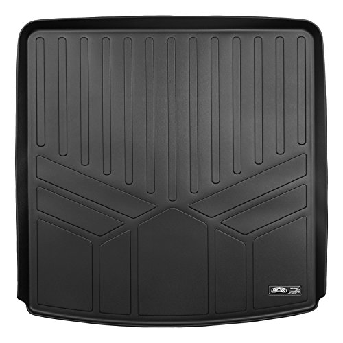 Gmc Cargo - MAX LINER D0230 All Weather Cargo Trunk Liner Floor Mat Behind 2nd Row Seat Black for 2017-2019 GMC Acadia (No All Terrain Models)