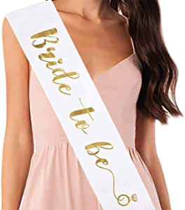 Party Propz Bride to Be Sash for Bachelorette Party
