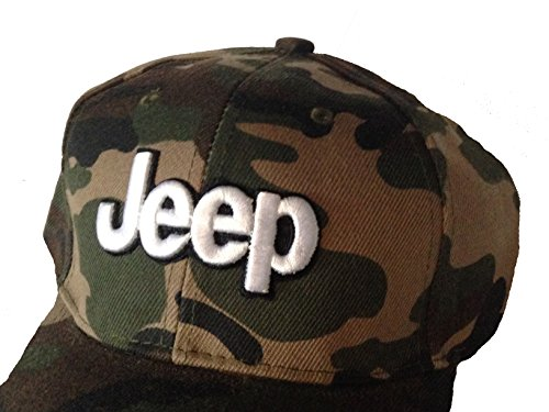 Jeep Baseball Cap Hat. Camouflage Army Pattern. (Hat New Camouflage Camo)
