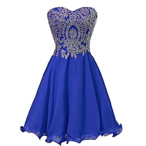 vestidos royal blue - 9