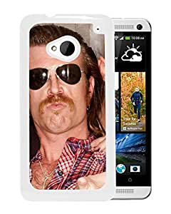 Beautiful Designed Cover Case With Eagles Of Death Metal Glasses Mustache Shirt Ring (2) For HTC ONE M7 Phone Case
