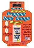 Dozenegg 0019193290501 Harold Import Hammerhead Accu Level Removable Magnetic Propane Tank Gauge, Clear