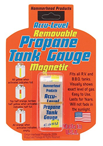 Dozenegg 0019193290501 Harold Import Hammerhead Accu Level Removable Magnetic Propane Tank Gauge, (Harold Vehicle)