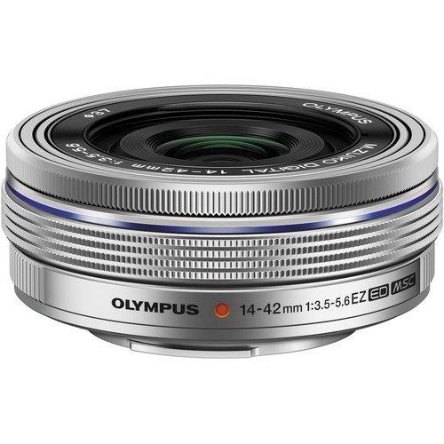 Olympus OM-D E-M10 Mark III (Mark 3) Digital Camera [Silver] + M.Zuiko Digital ED 14-42mm f/3.5-5.6 EZ Lens (Silver) + M.Zuiko Digital ED 40-150mm f/4.0-5.6 R Lens (Silver) by Olympus (Image #2)