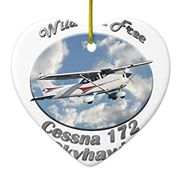 Amazon Christmas Ornament For Kids Cessna 172 Skyhawk Wild And