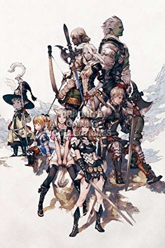 CGC Huge Poster - Final Fantasy XIV A Realm Reborn PS3 PS4 X