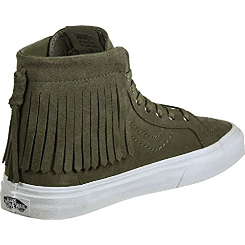 f4c8a0b12e Vans SK8 Hi Moc Suede Ivy Green Women s Skate Shoes Size 7 85%OFF ...
