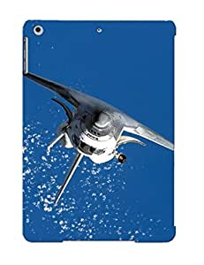 Crooningrose High-quality Durability Case For Ipad Air(spaceman Plasma)