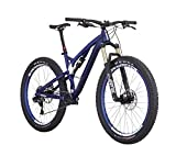 Diamondback Bicycles Catch 2 Complete Ready Ride Full Suspension Mountain Bicycle, 19″/Large, Blue