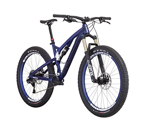 Best Price of Diamondback Bicycles Catch 2 Complete Ready Ride Full Suspension Mountain Bicycle, 21″/X-Large, Blue