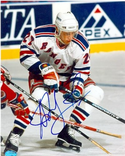 Autograph Warehouse 10598 Alexei Kovalev Autographed 8 x 10 Photo New York Rangers from Autograph Warehouse