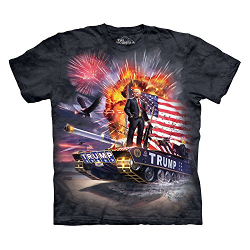 The Mountain Trump T Shirt Large Charcoal