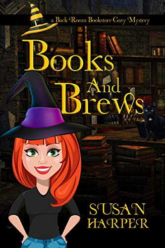 Books and Brews (Back Room Bookstore Cozy Mystery Book 1) by [Harper, Susan]