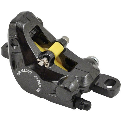 Shimano XT M8000 Disc Brake Caliper Black with Metal Pads Front or Rear