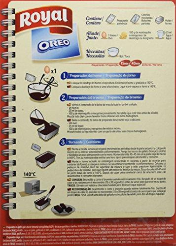 Royal Brownie Con Oreo - Paquete de 6 x 62.50 gr - Total: 375 gr: Amazon.es: Alimentación y bebidas