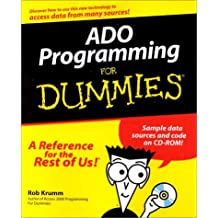 ADO Programming For Dummies