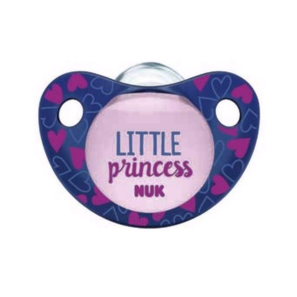 Amazon.com: NUK 9555-2 - Chupete de silicona para bebé ...
