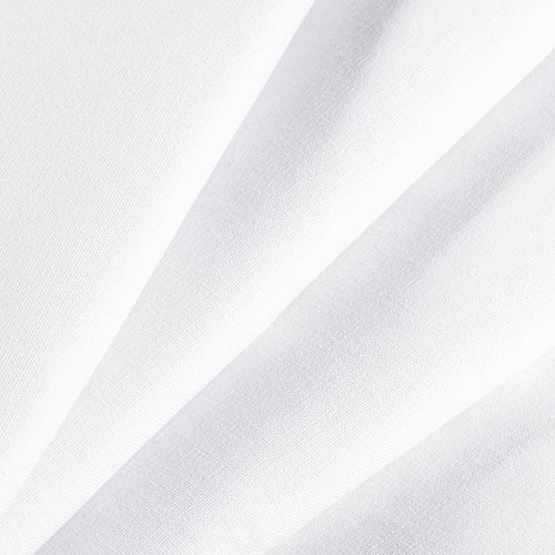 Neewer 6 x 9FT / 1.8 x 2.8M Photo Studio 100% Pure Muslin Collapsible Backdrop Background for Photography,Video and Televison (Background ONLY) - White