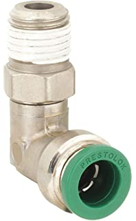 Pack of 10 Parker Hannifin W68PLP-4-4-pk10 Prestolok PLP Male Connector Push-to-Connect Fitting 1//4 Push-to-Connect Tube x 1//4 Male NPTF Nickel Plated Brass Parker Hannifin Corporation Pack of 10 1//4 Push-to-Connect Tube x 1//4 Male NPTF