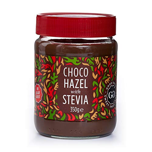 - Belgian Choco Hazel with Stevia 12 oz (350g) - No Added Sugar - A healthy & delicious Option For Those Who Love Chocolate Spreads - Gluten Free - Vegetarian Friendly