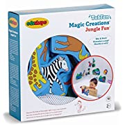 Edushape Magic Creations Bath Play Set, Jungle Fun