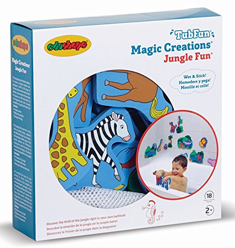 Edushape Magic Creations Bath Play Set, Jungle - Toy Jungle Bath