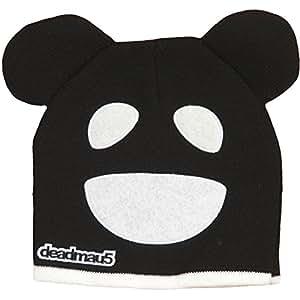 Deadmau5: Black & White Mouse Beanie Hat