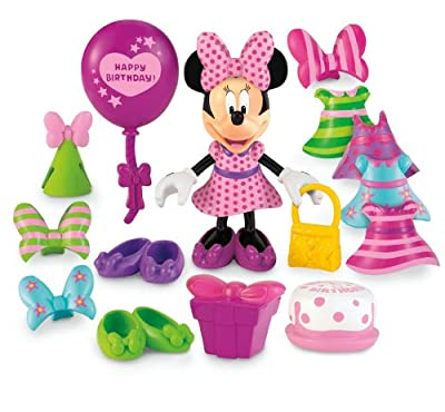 Disneys Minnie Mouse Birthday Party Deluxe Bowtique by Fisher Price