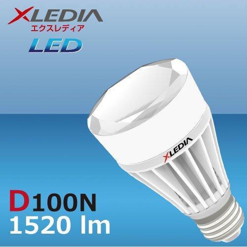 XLEDIA D100N-Diamond Series (A19,100W Equivalent,1520 lm,Cool White,Omni+Enclosed), Baby & Kids Zone