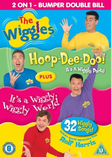 The Wiggles - Hoop-Dee-Doo!/It's a Wiggly, Wiggly World [Import anglais] (The Wiggles Its A Wiggly Wiggly World)