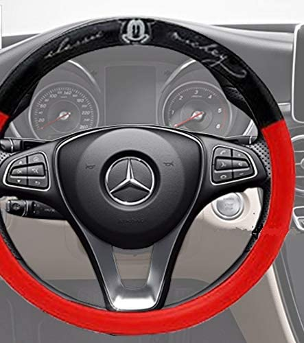 Next Mickey Steering Wheel Cover Classic Mickey Collection Limited Edition Red