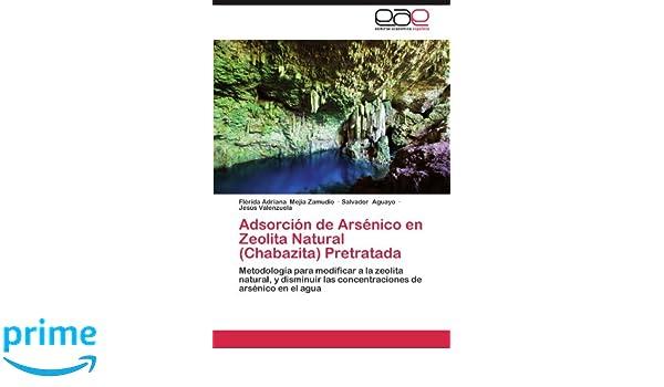 Adsorción de Arsénico en Zeolita Natural (Chabazita) Pretratada: Metodología para modificar a la zeolita natural, y disminuir las concentraciones de ...