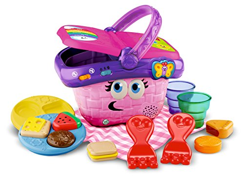 LeapFrog Shapes and Sharing Picnic Basket (Leapfrog Learning Friends Play And Discover School Set)