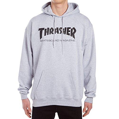 e30eeb024734 Thrasher Skate Mag Hoodie - Grey - MD