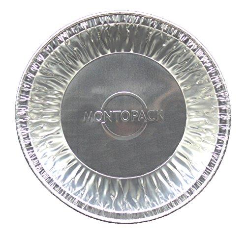 MontoPack Disposable 5'' Aluminum Foil Tart/Pie Pans (50 Pack) by MontoPack (Image #1)
