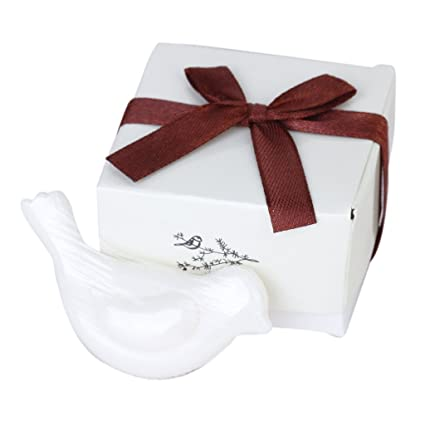 Sonline Love Bird Shape Scented Soap For Wedding Party Favors Gift
